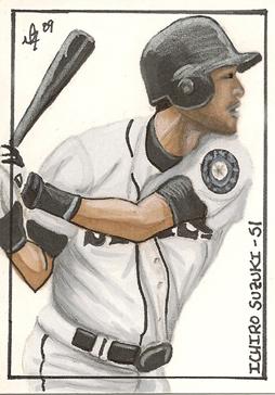 Ichiro Sketch Card